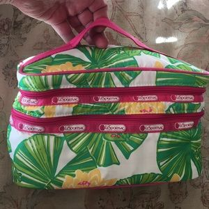 LeSportSac Frog 🐸 LillyPad DUAL zip Pad & WaterRe
